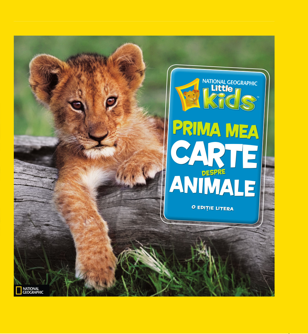 Prima mea carte despre animale imagine 2021