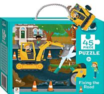 Junior Jigsaw 45 Piece Puzzle. Fixing the Road