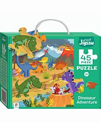 Junior Jigsaw 45 Piece Puzzle. Dinosaur Adventure