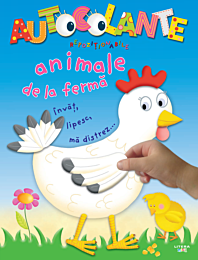 Autocolante repozitionabile. Animale de la ferma