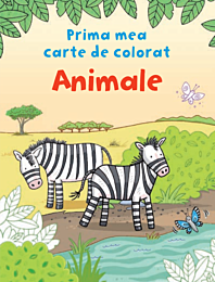 Animale. Prima mea carte de colorat