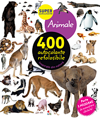 Animale. 400 de autocolante refolosibile