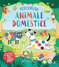 Pictez cu degetele. Animale domestice