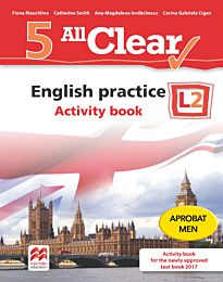 All Clear. English practice. Activity book. L 2. Lectia de engleza (clasa a V-a)