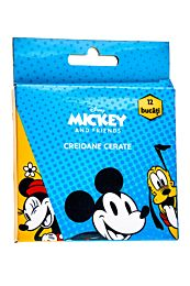 Creioane cerate Disney Mickey & Friends, 12 bucati