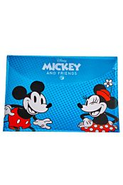 Mapa plastic Disney Mickey & Friends  cu buton