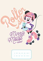 Caiet matematica A5, 64 de file, Minnie Mouse