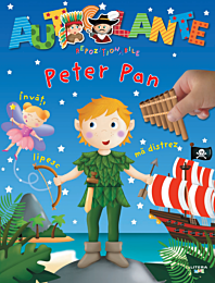 Autocolante repozitionabile. Peter Pan