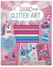 Folder of Fun: Sand and Glitter Art