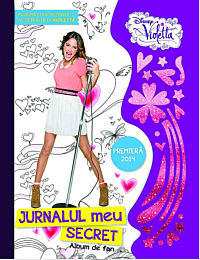 Disney. Violetta. Jurnalul meu secret. Album de fan