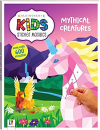 Kaleidoscope Kids Sticker Mosaics. Mythical Creatures