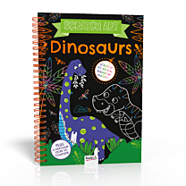 Scratch Art: Dinosaurs