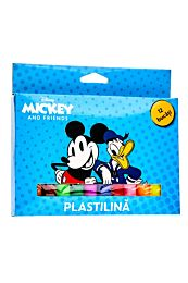 Plastilina Disney Mickey & Friends, 12 culori