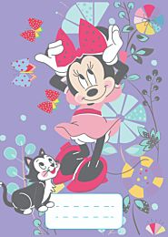 Caiet matematica A5, 48 de file, Minnie Mouse