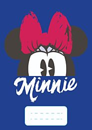 Caiet dictando A5, 64 de file, Minnie Mouse