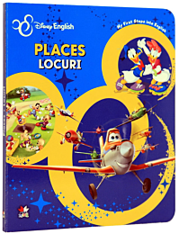 Disney English. Places/Locuri. My First Steps into English