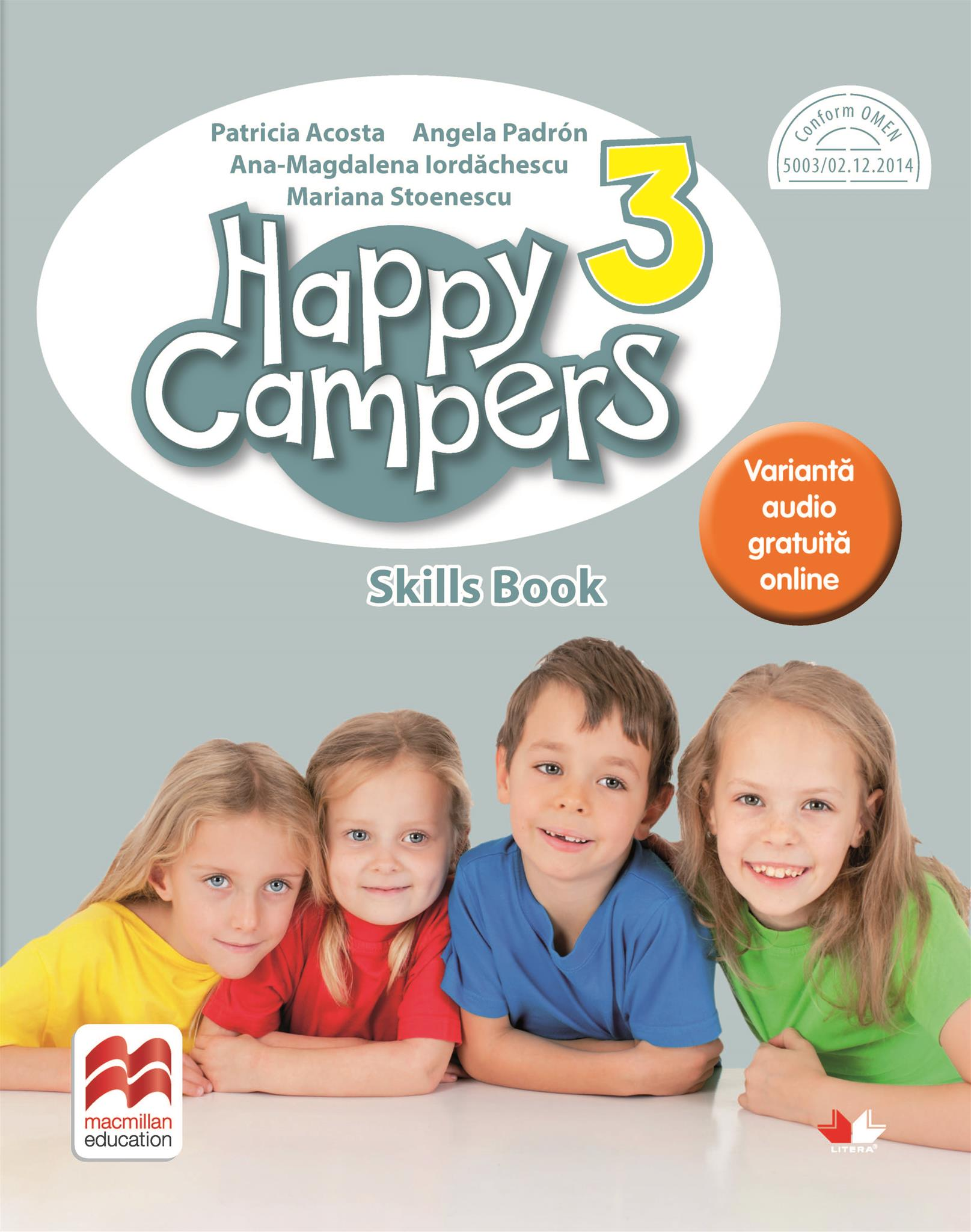 Happy campers. Skills Book. Clasa a III-a